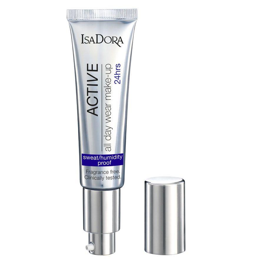 IsaDora Active All Day Wear Makeup, 10 Fair (35 ml)
