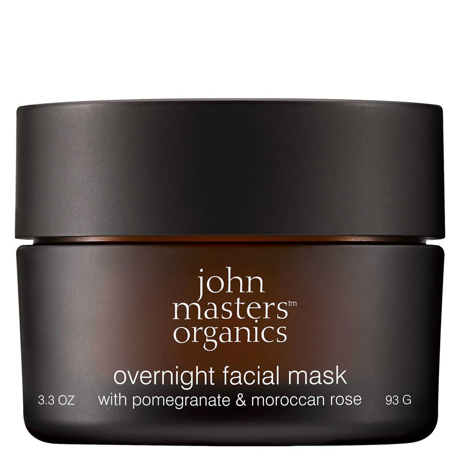 John Masters Organics Overnight Facial Mask With Pomegranate & Moroccan Rose (93 g)