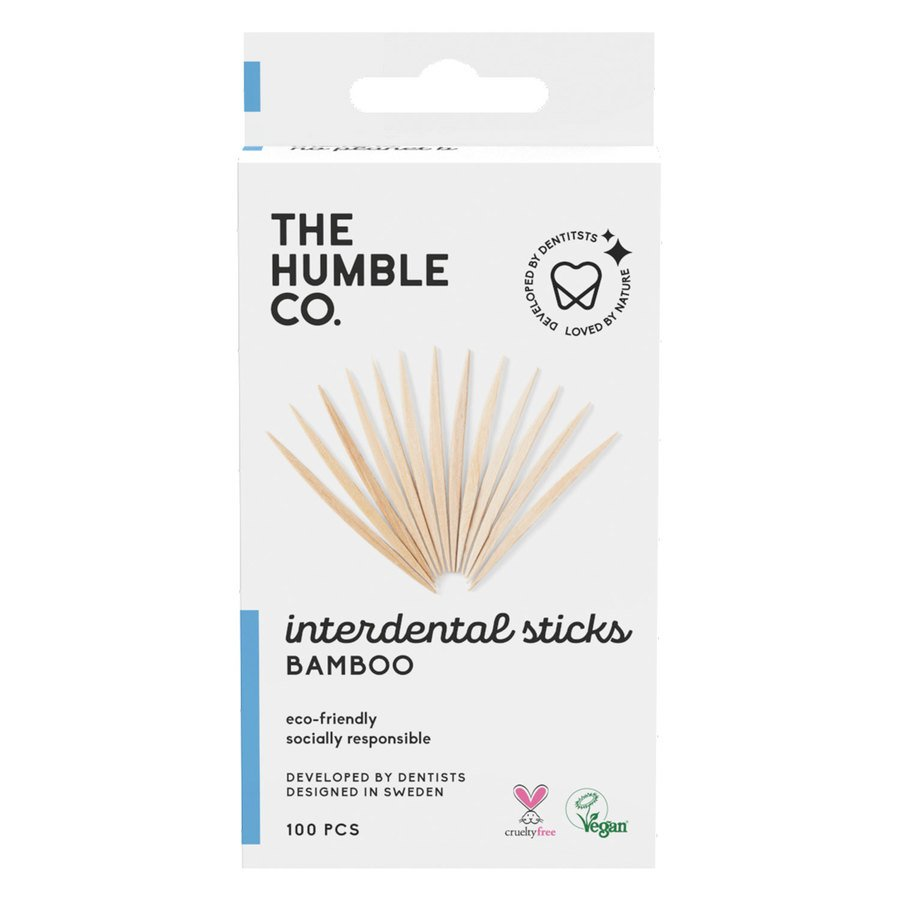 The Humble Co. Bamboo Interdental Sticks 100 St.