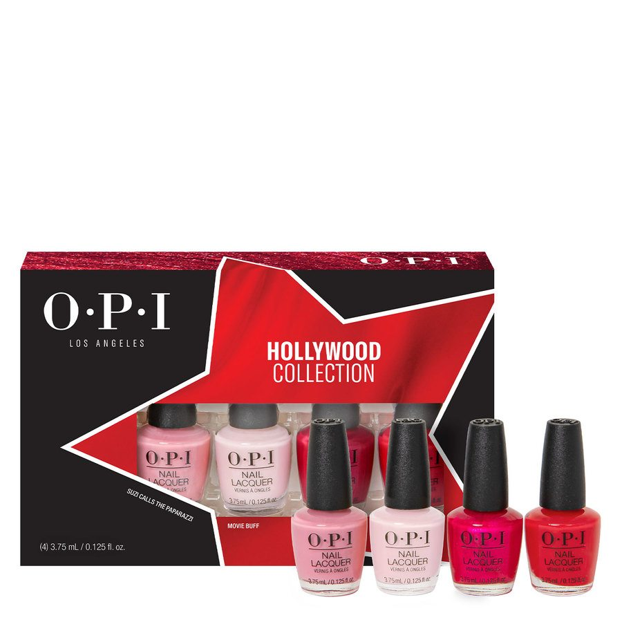 OPI Hollywood Collection Nail Lacquer, DCH60 Mini-Pack 4 x 3,75 ml