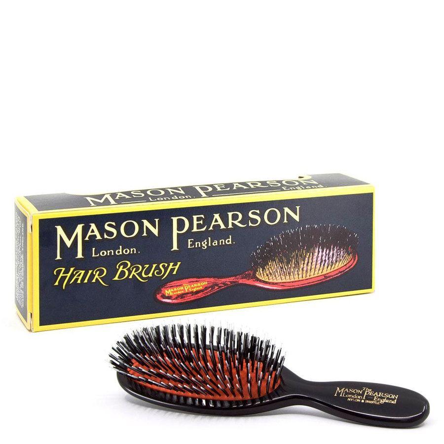 Mason Pearson Brush Pocket Bristle/Nylon BN4, Dark