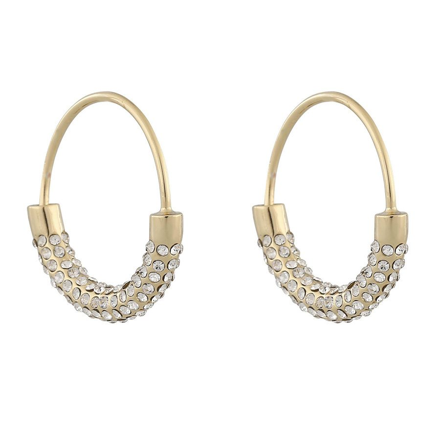 Snö Of Sweden Anglais Ring Earring, Gold/Clear