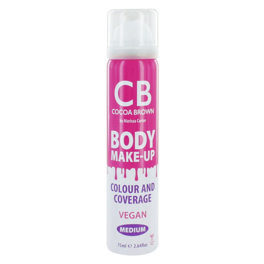 Cocoa Brown Body Make-Up Vegan Color & Coverage, Medium (75 ml)