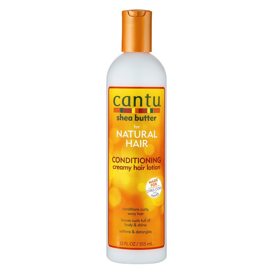 Cantu Shea Butter For Natural Hair Conditioning Creamy Hair Lotion (355 ml)