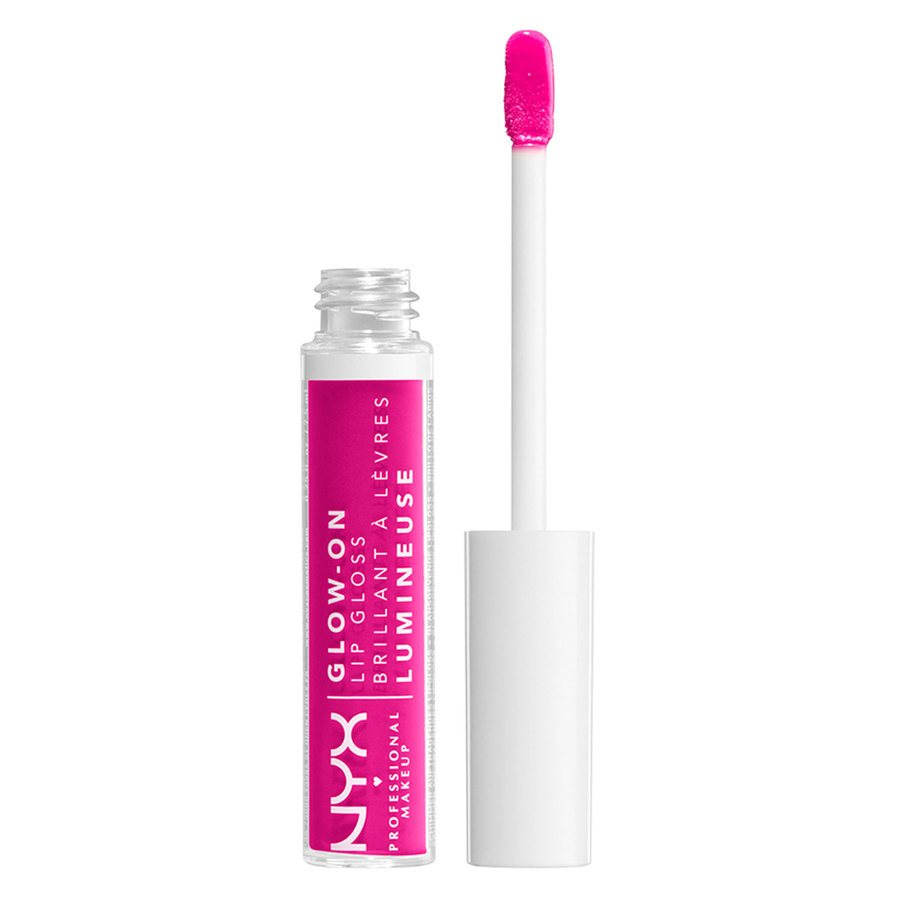 NYX Professional Makeup Glow-On Lip Gloss, Florl Space (7,5 ml)