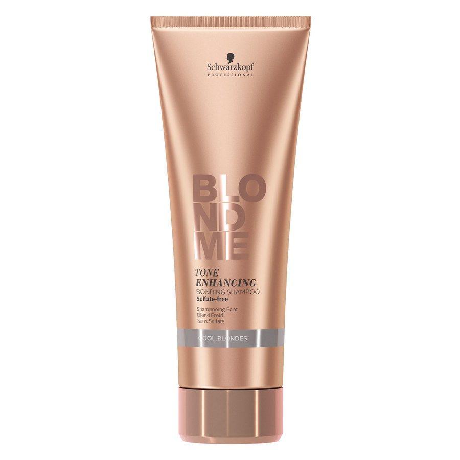 Schwarzkopf Blondme Tone Enhancing Bonding Shampoo Cool Blonde (250 ml)