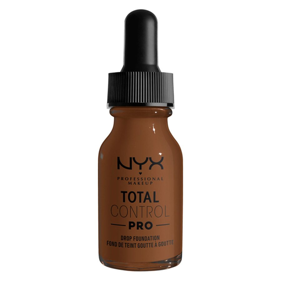 NYX Professional Makeup Total Control Pro Drop Foundation, Mocha 13 ml