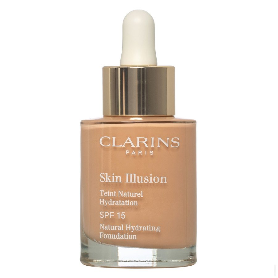 Clarins Skin Illusion Foundation, 107 Beige (30 ml)