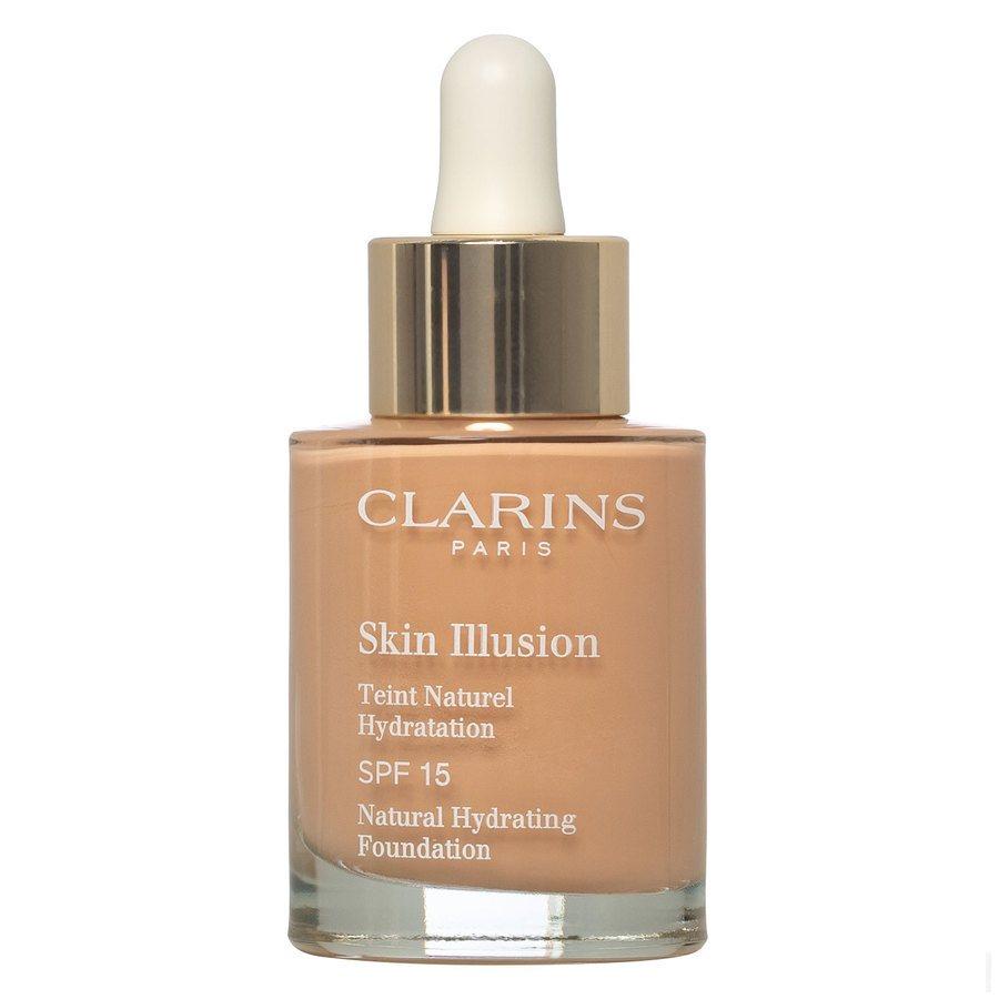Clarins Skin Illusion Foundation, 107 Beige (30ml)