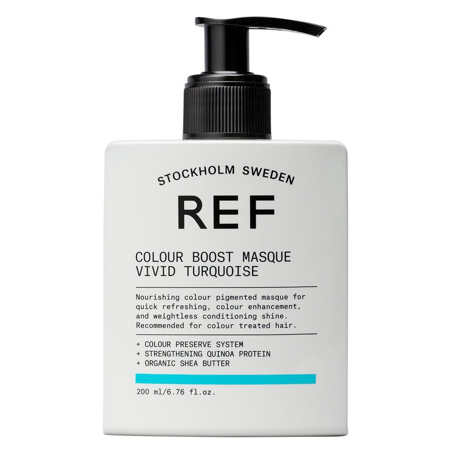 REF Colour Boost Masque, Vivid Turquoise (200 ml)