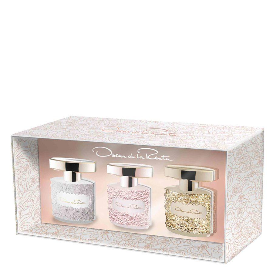 Oscar de la Renta Gift Set Mini, Bella Blanca/Rosa/Essence 3x5ml