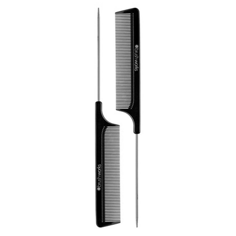 Brushworks Professional Tail Combs (2Stck.)