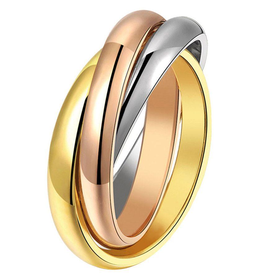 Shelas Ring aus Edelstahl, Medium