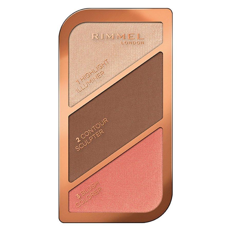 Rimmel London Sculpting & Highlighting Palette #003 Golden Bronze 18,5 g