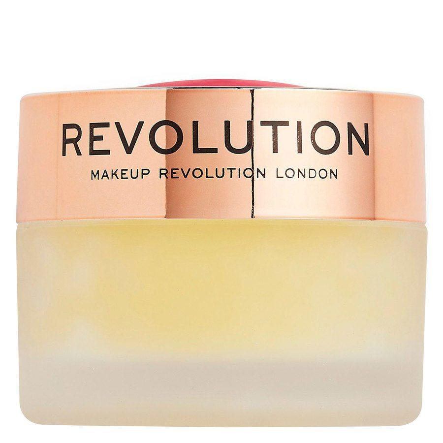 Makeup Revolution Sugar Kiss Lip Scrub, Pineapple Crush 15g