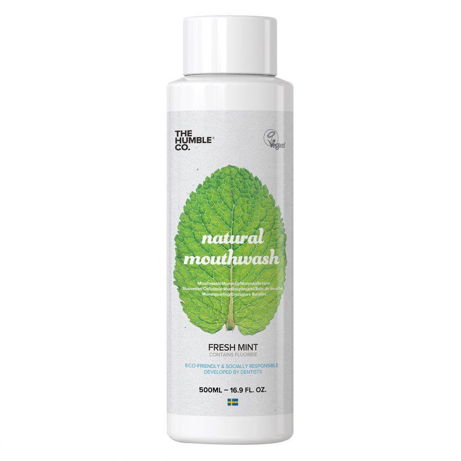 The Humble Co Humble Natural Mouthwash, Fresh Mint 500ml
