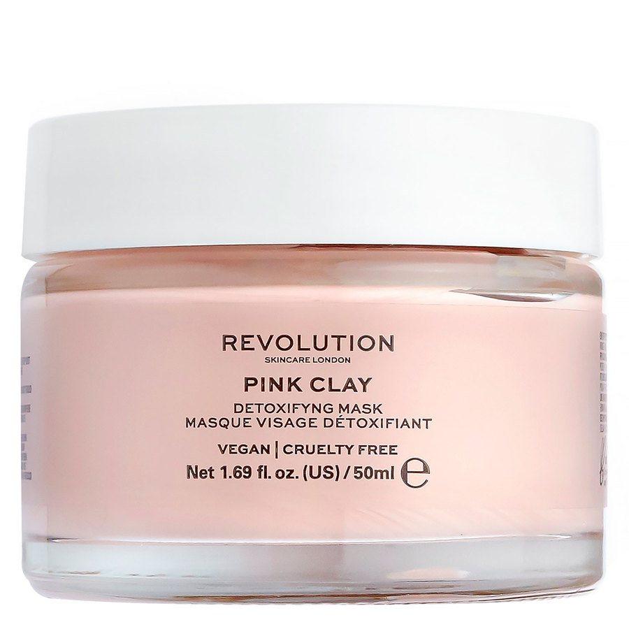 Revolution Skincare Pink Clay Detoxifying Face Mask 50ml