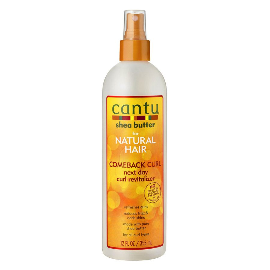 Cantu Shea Butter For Natural Hair Comeback Curl Next Day Curl Revitalizer (340 g)