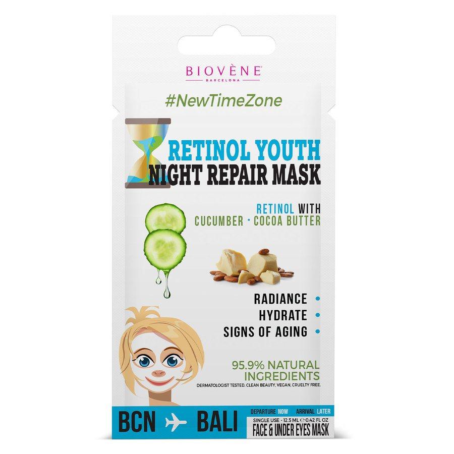 Biovène Retinol Youth Night Cream Mask (12,5 ml)