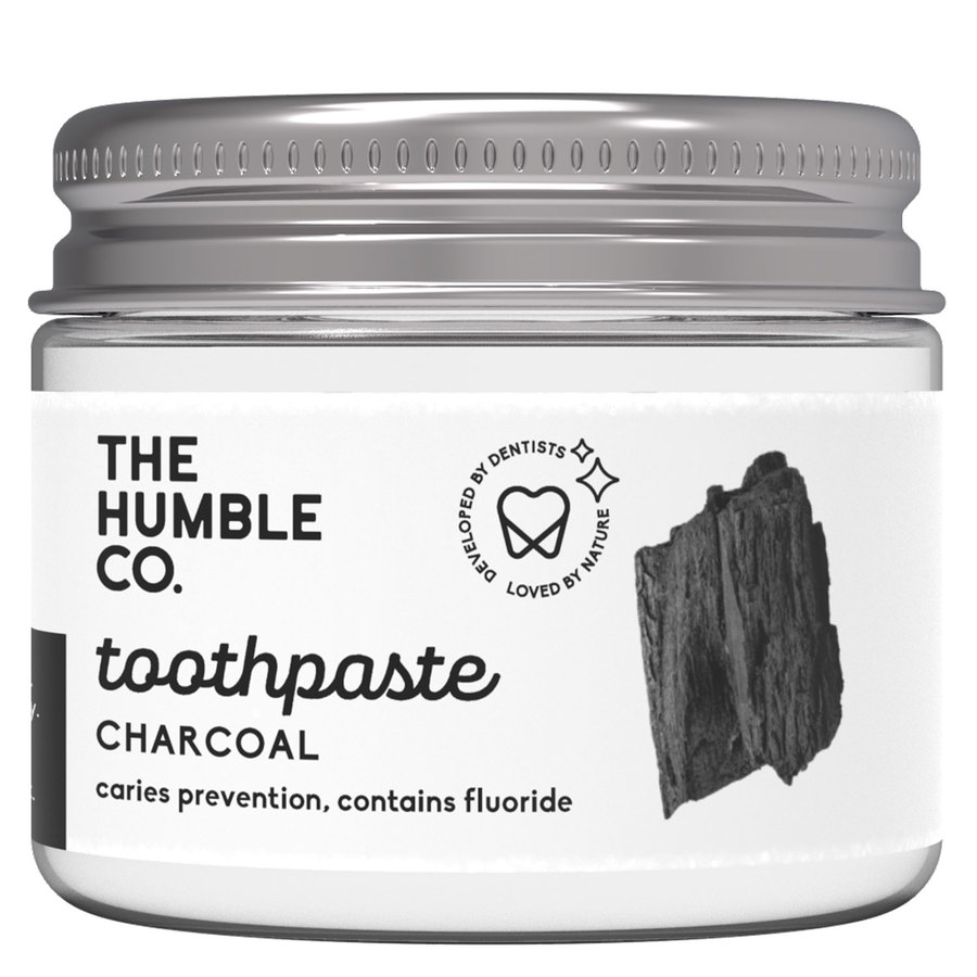 The Humble Co Humble Natural Toothpaste In Jar, Charcoal 50ml