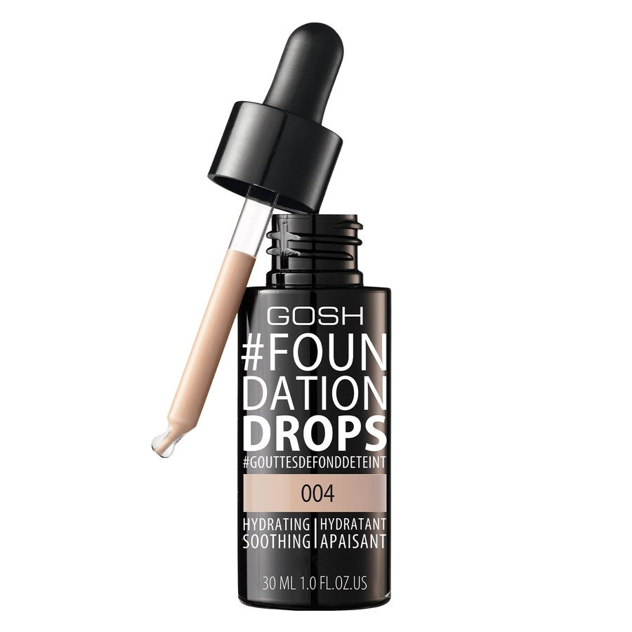 GOSH Foundation Drops, #004 Natural (30 ml)
