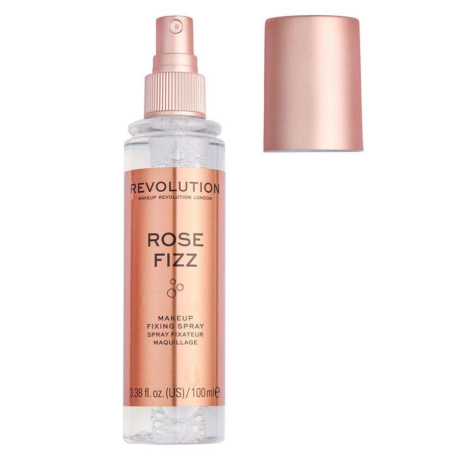 Makeup Revolution Precious Stone Fixing Spray, Rose Fizz (100ml)