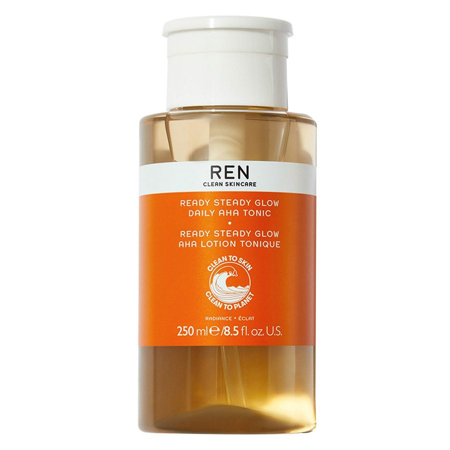 REN Clean Skincare Ready Steady Glow Daily AHA Tonic (250ml)