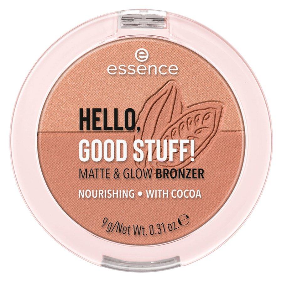 essence Hello Good Stuff Matte & Glow Bronzer 9g ─ 20
