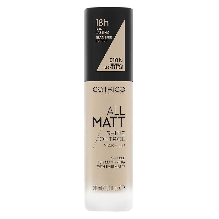 Catrice All Matt Shine Control Make Up, 010 N Neutral Light Beige 30ml