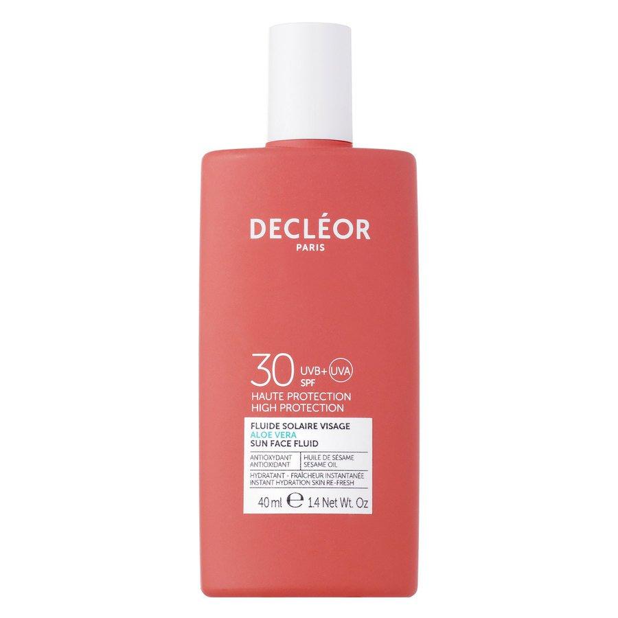 Decleor Aloe Vera Sun Face Fluid SPF30 (40ml)
