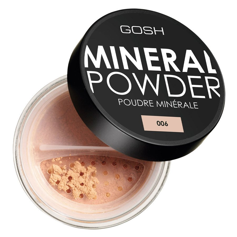 GOSH Mineral Powder, #006 Honey (8 g)