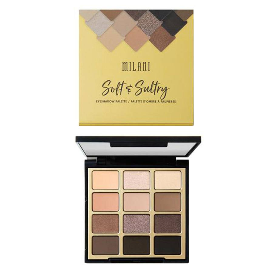 Milani Cosmetics Eyeshadow Palette, Soft And Sultry