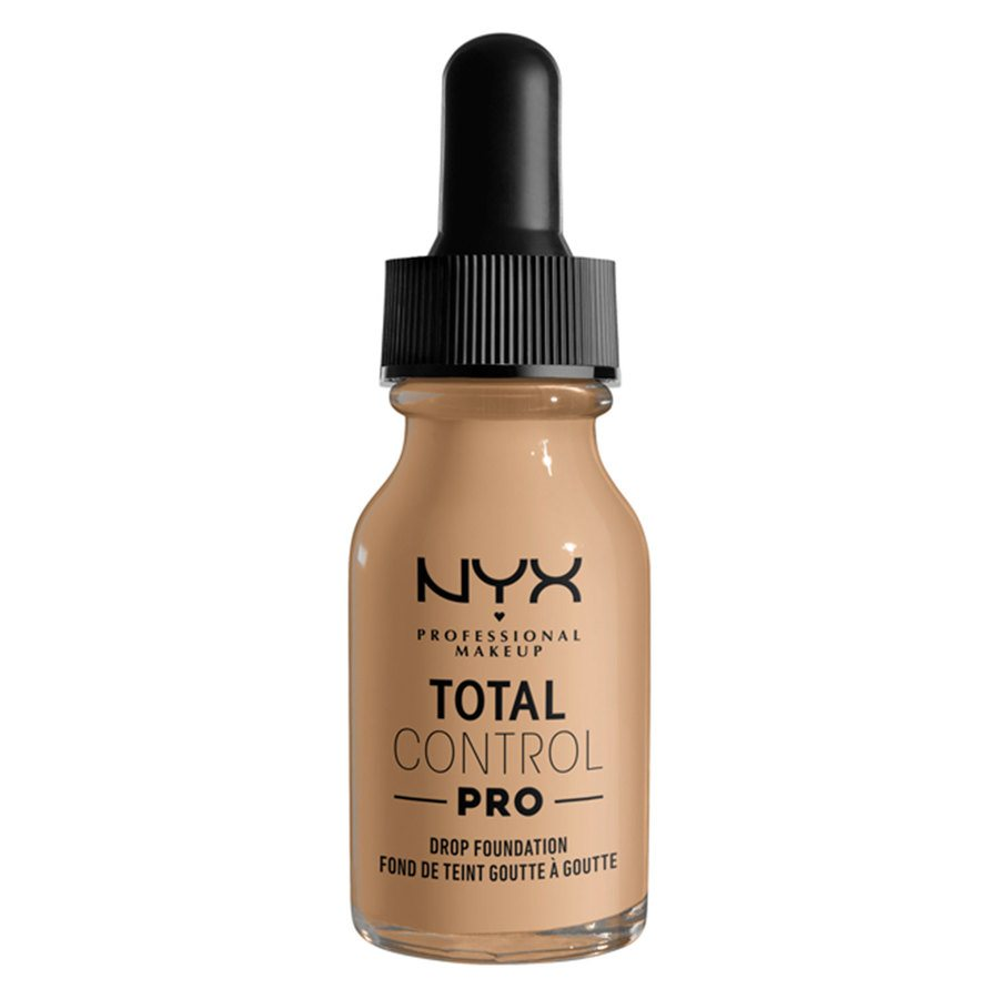 NYX Professional Makeup Total Control Pro Drop Foundation, Buff 13 ml