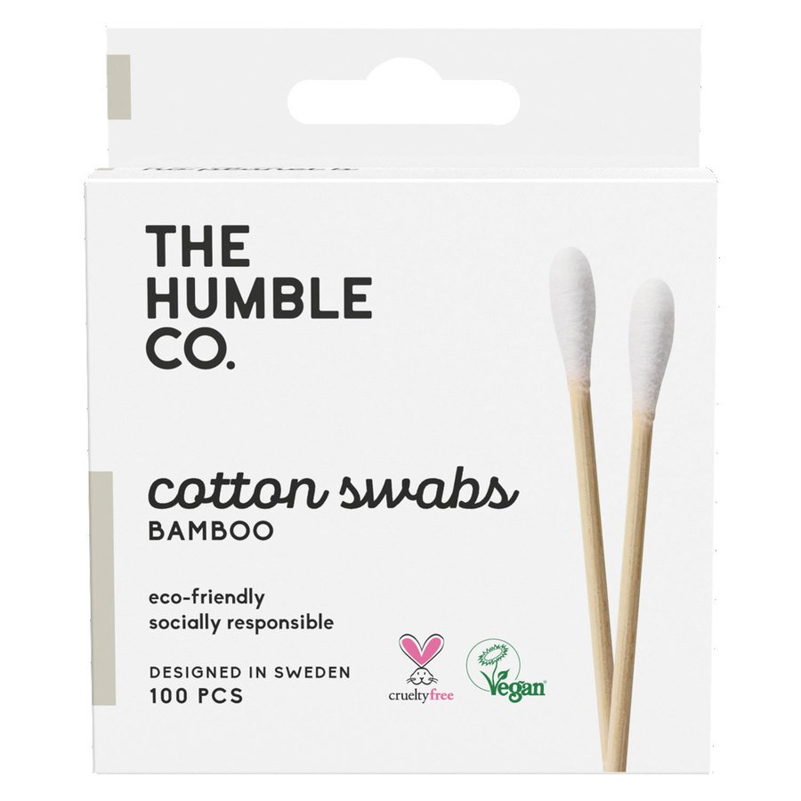 The Humble Co Humble Natural Cotton Swabs, White 100St.