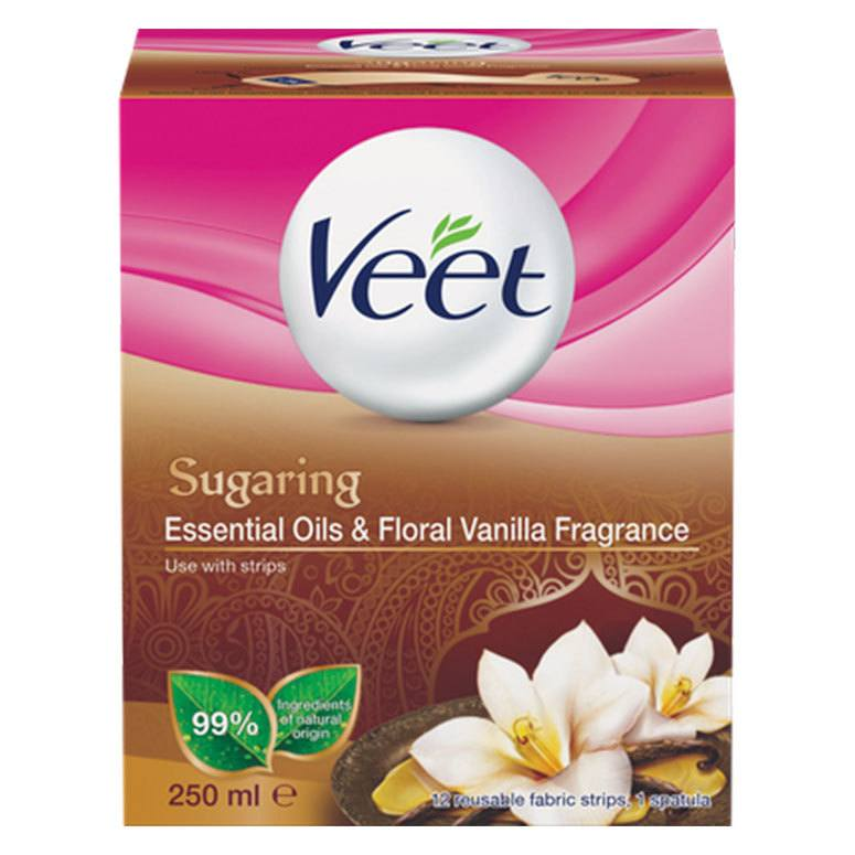 Veet Sugaring Essential Oils & Floral Vanilla Fragrance 250 ml