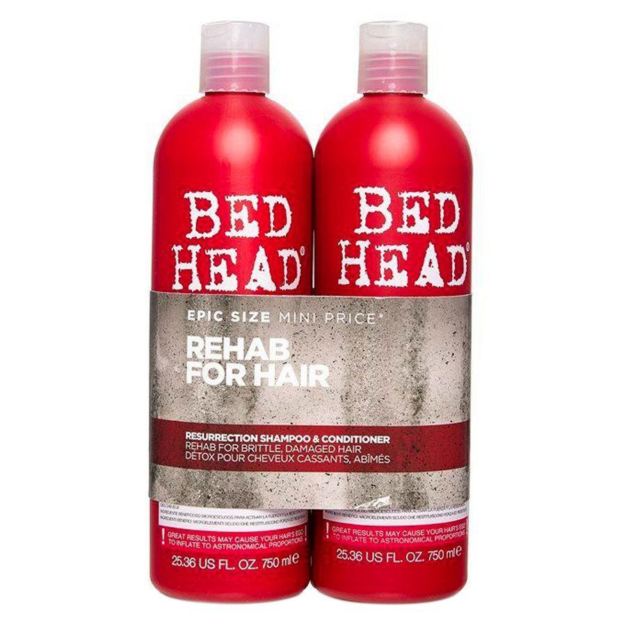 TIGI Bed Head Urban Antidotes Resurrection Shampoo & Conditioner (2 x 750 ml)
